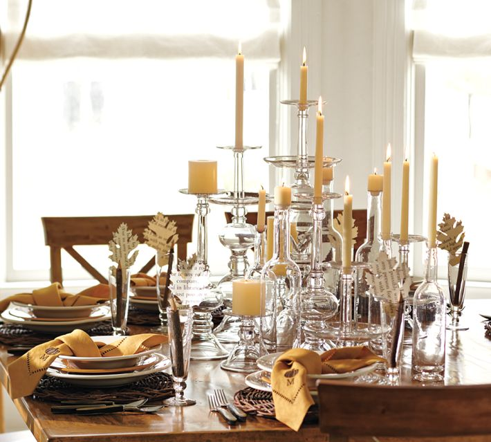Picture of: christmas dining table centerpiece ideas