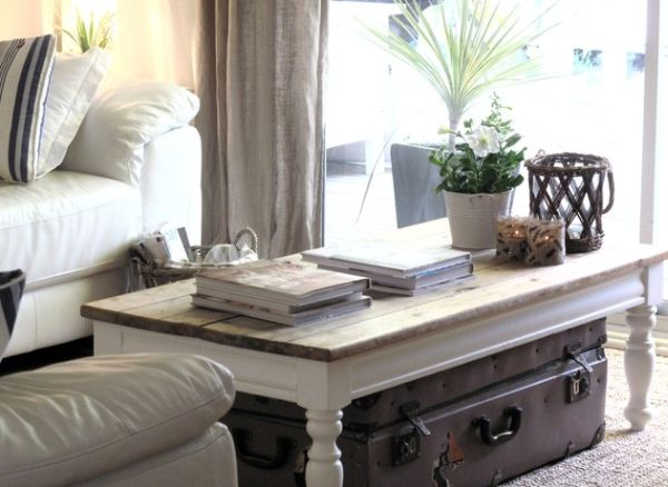 Picture of: coffee table decor ideas