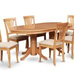 Contemporer Oval Dining Table