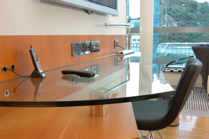 Image of: custom glass tabletop