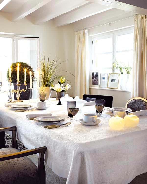 Image of: decor dining table centerpiece ideas