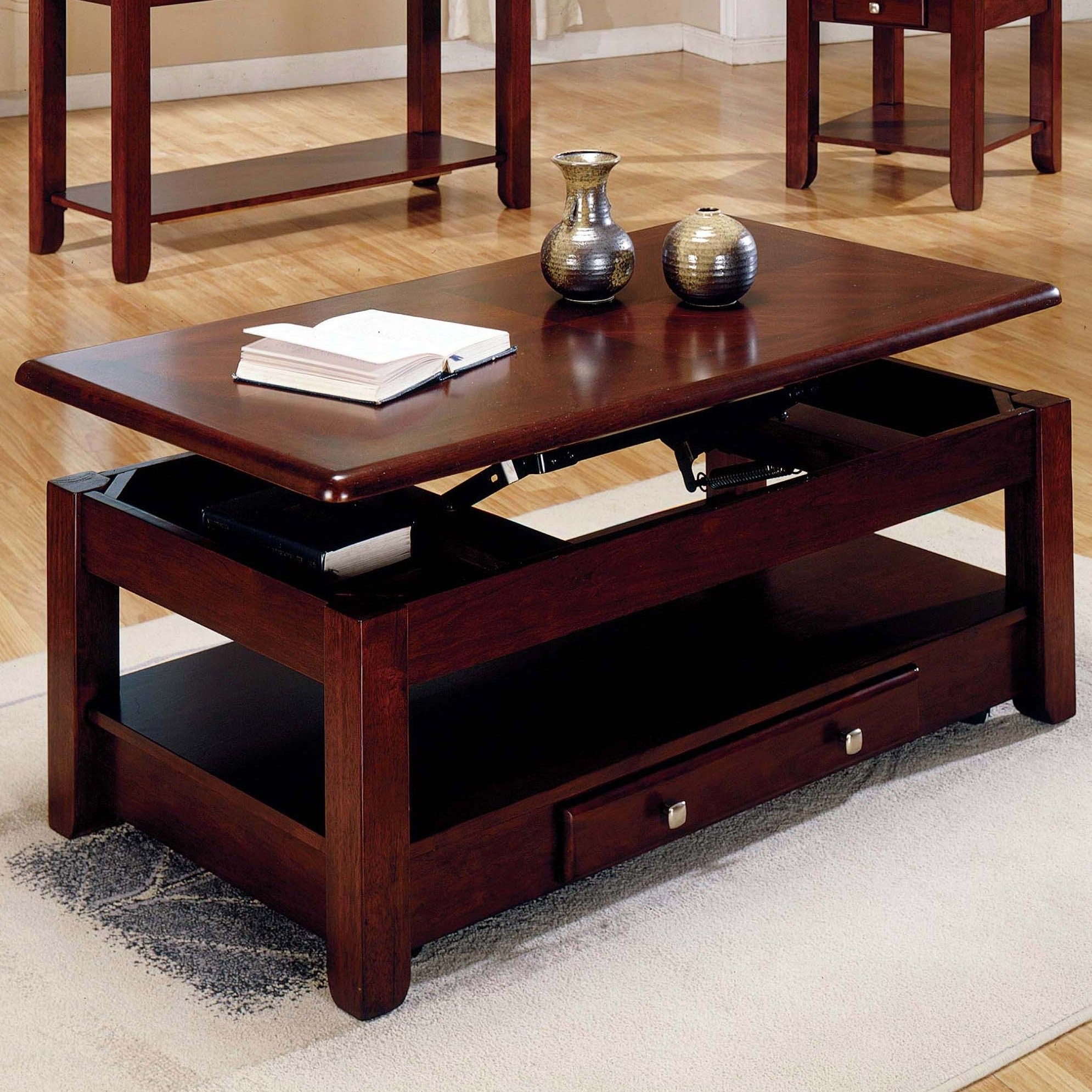 Picture of: Excellent Lift Top End Table