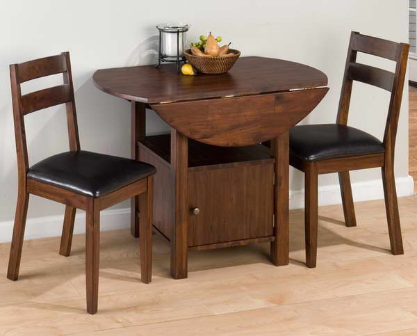 Image of: folding dining table designs