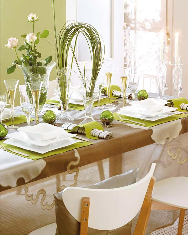 Image of: fresh dining table centerpiece ideas