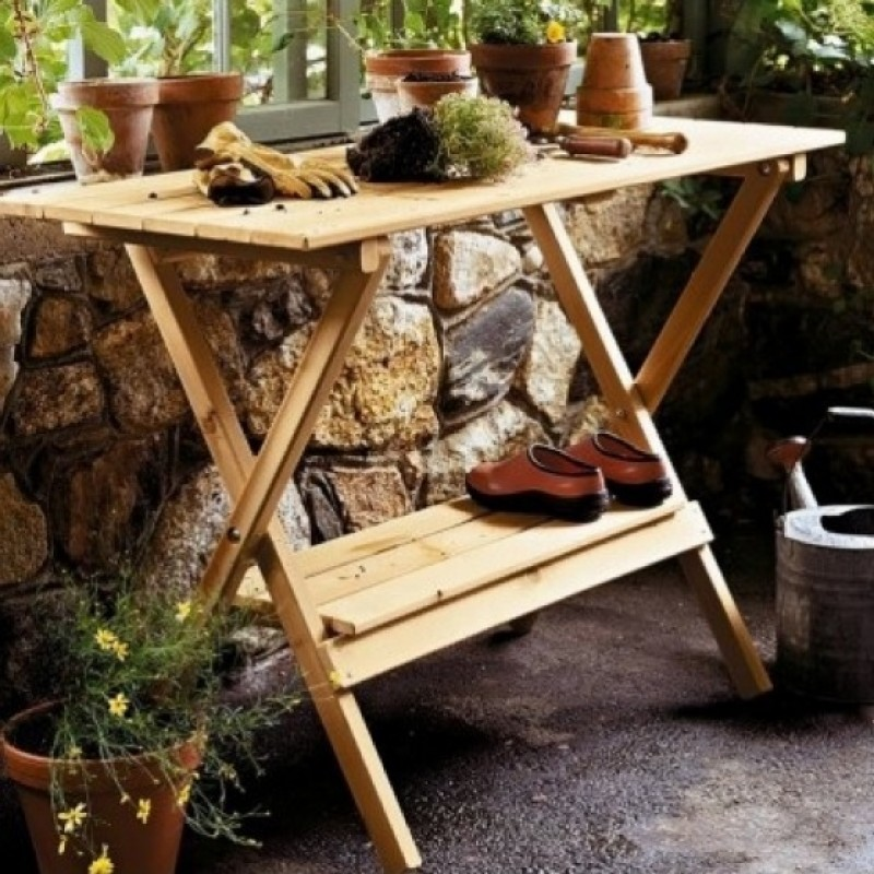 Picture of: garden outdoor console table