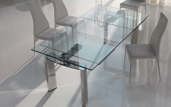 Image of: glass dining table ikea ideas