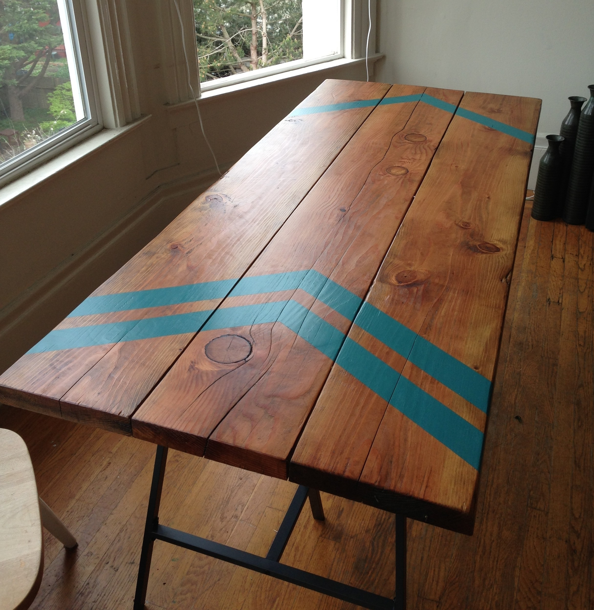 Image of: Last How To Refinish Wood Table