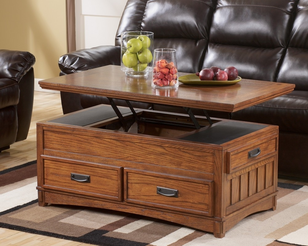 Picture of: Latest Lift Top End Table