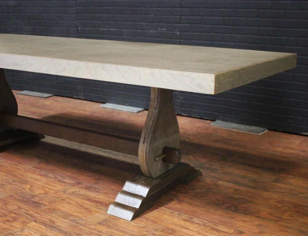 Image of: low birch dining table