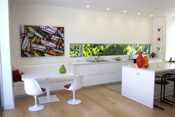 Picture of: modern breakfast nook table