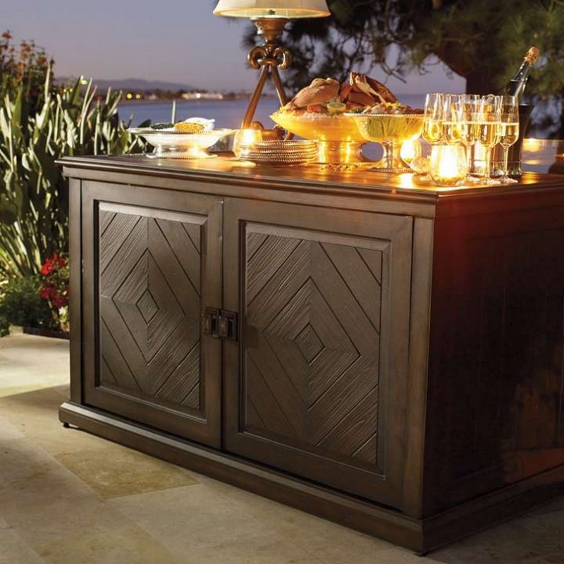Image of: outdoor console table furniture