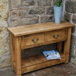 Outdoor Console Table Storage