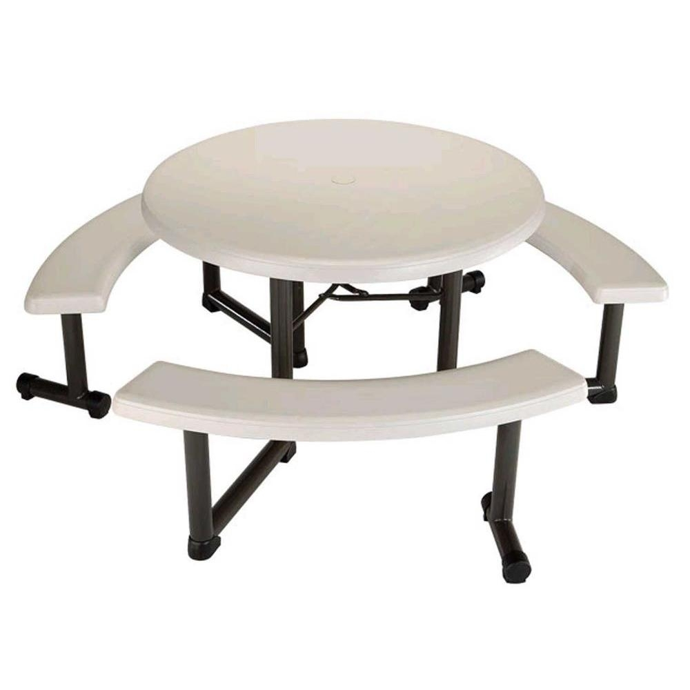 Picture of: Picnic Tables Patio Tables The Home Depot