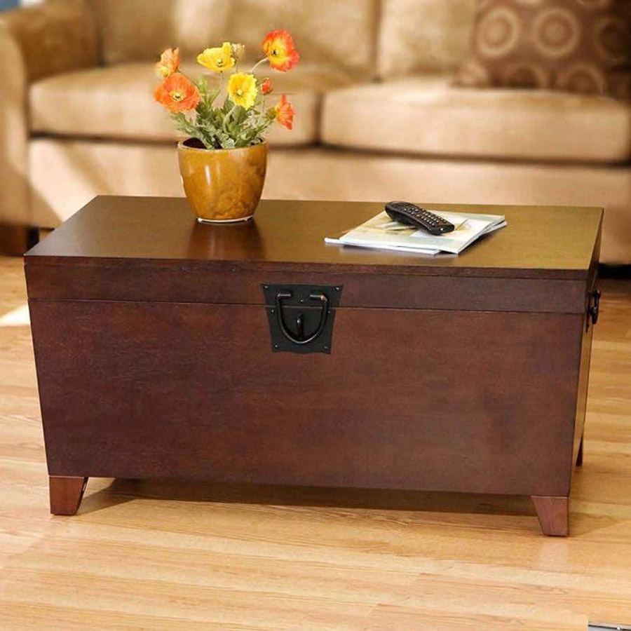 Trunk Coffee Table Minimalist Wooden