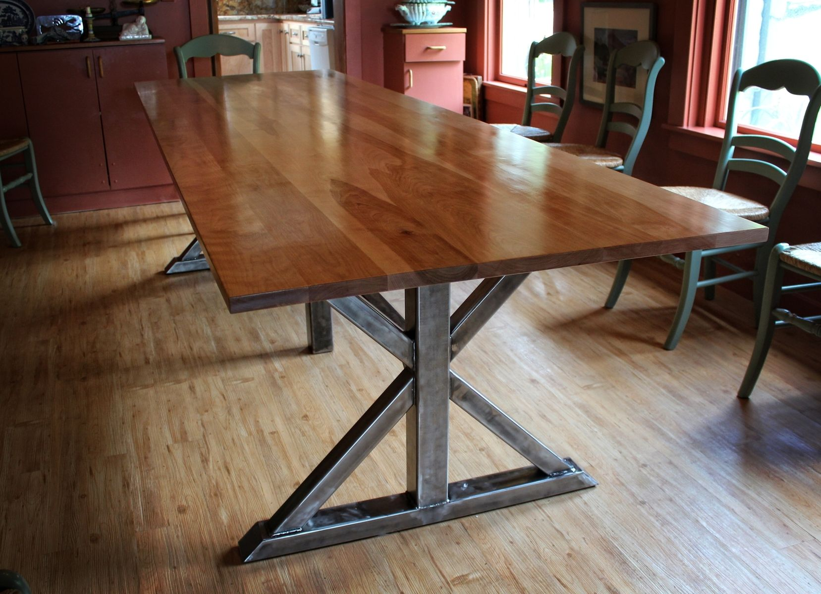 Image of: what is birch dining table