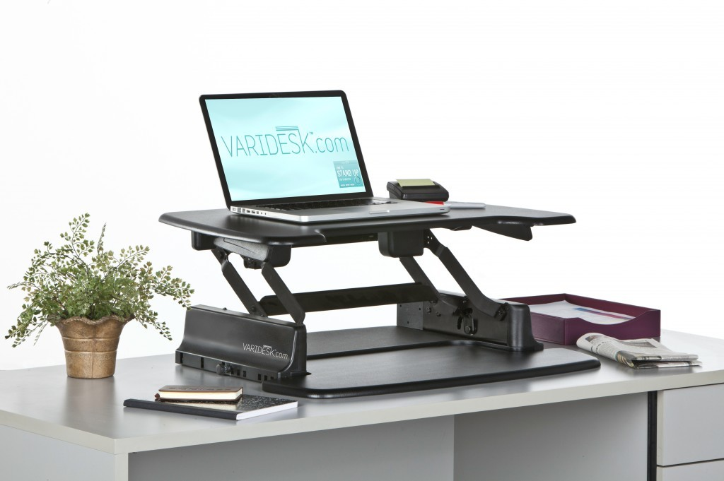 Picture of: Adjustable Standing Desk Topper