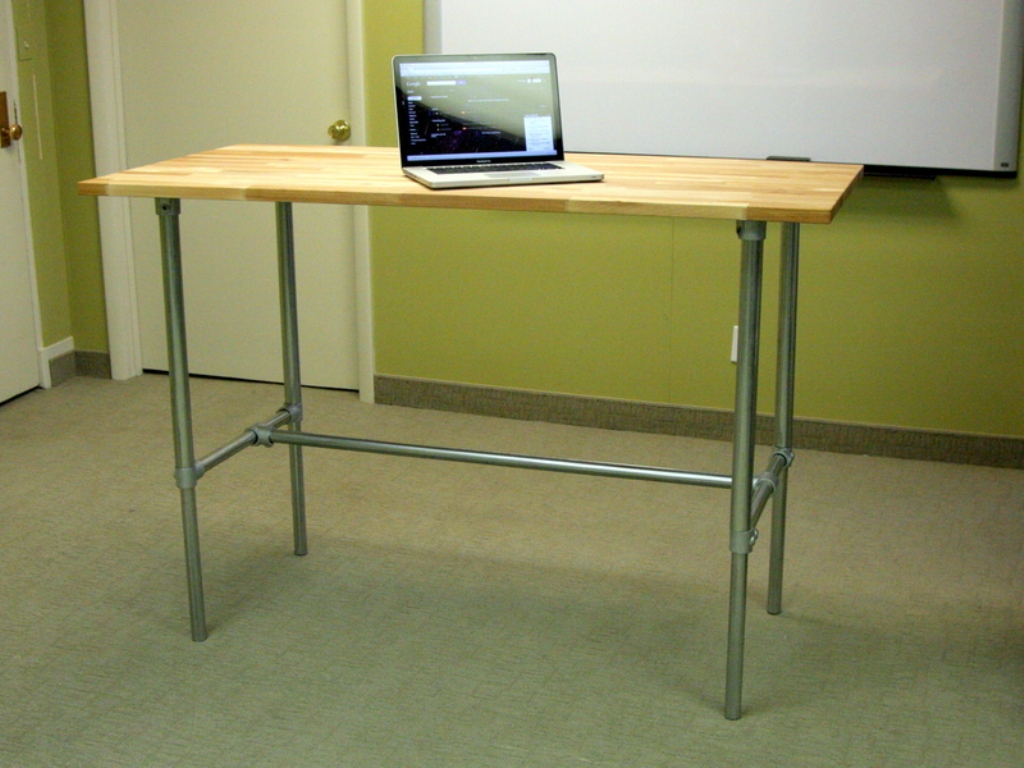 Picture of: Adjustable Standing Desk