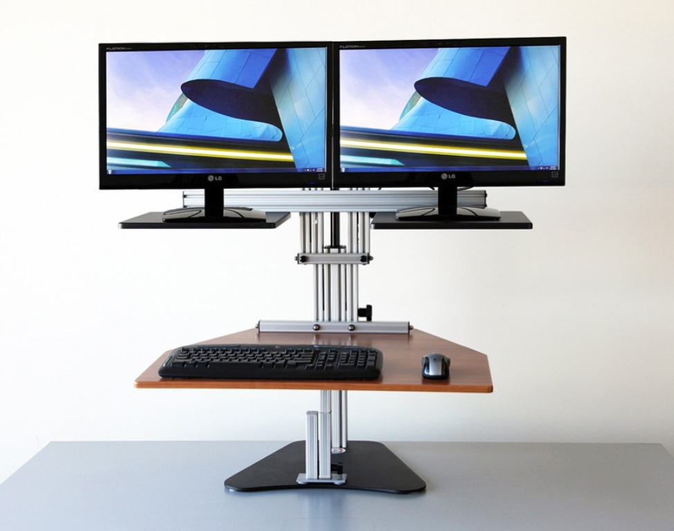 Picture of: Adjustable Standing Desktop