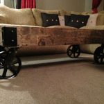 Antique Coffee Tables With Wheels