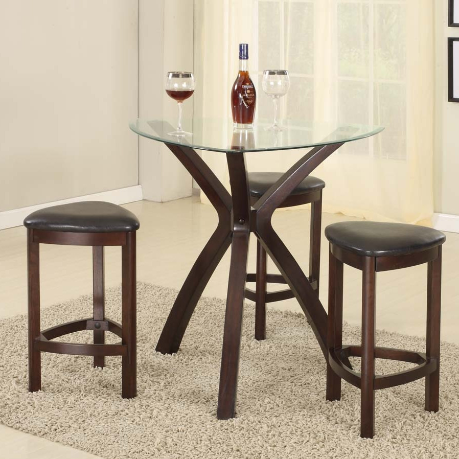Image of: Bar Stool and Table Set Designs