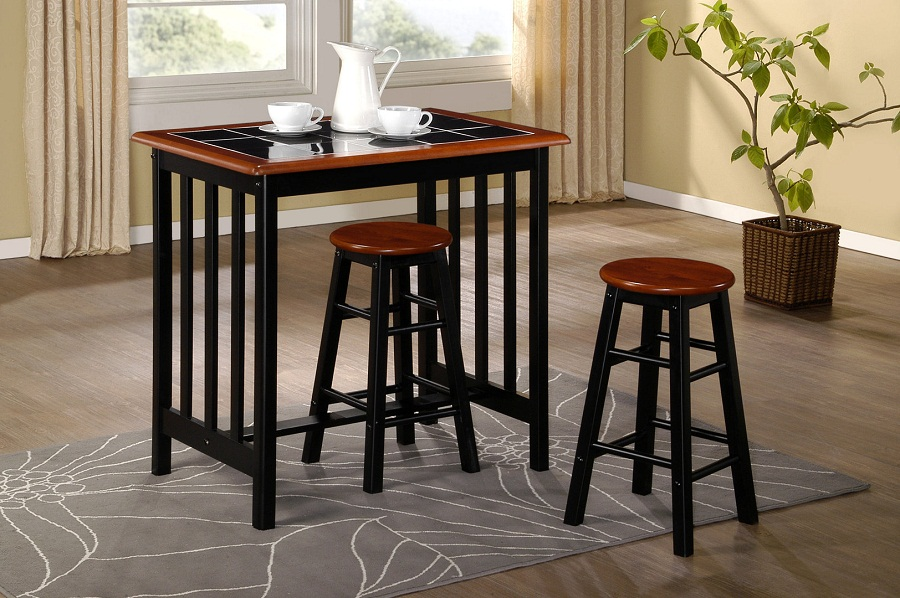 Image of: Bar Stool and Table Set Furniture