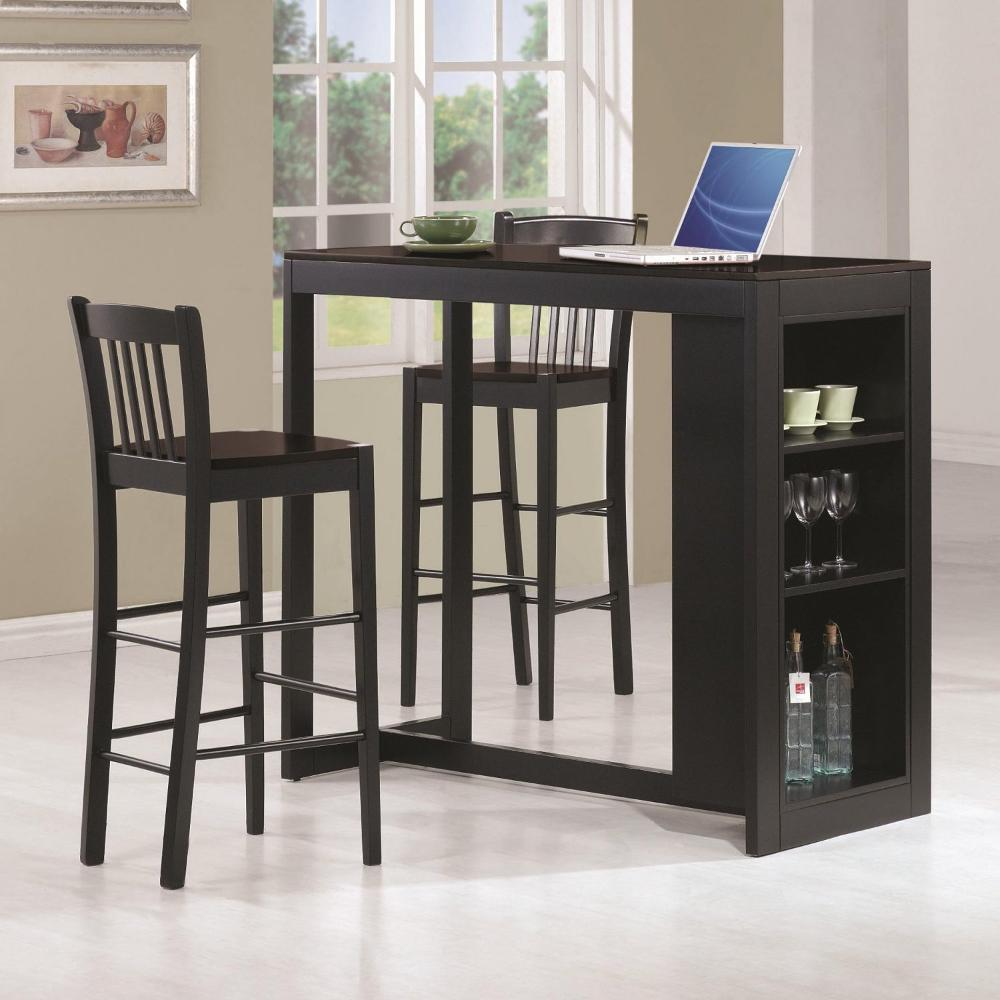 Image of: Bar Stool and Table Set Type