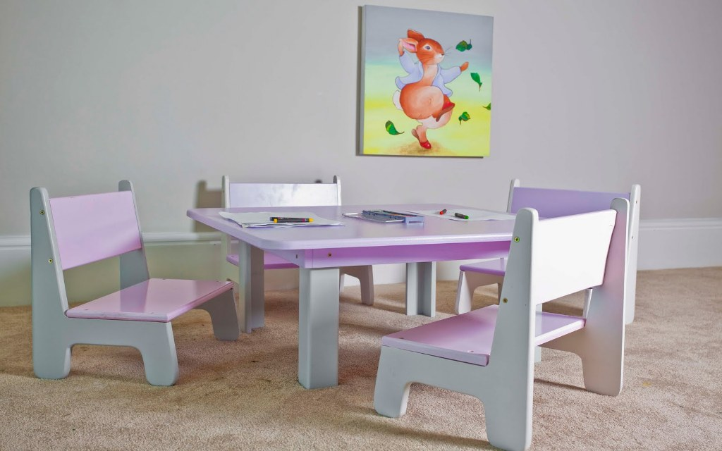 Image of: best toddler table and chair set