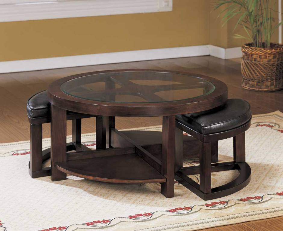 Image of: Big Lots Round Coffee Table Sets