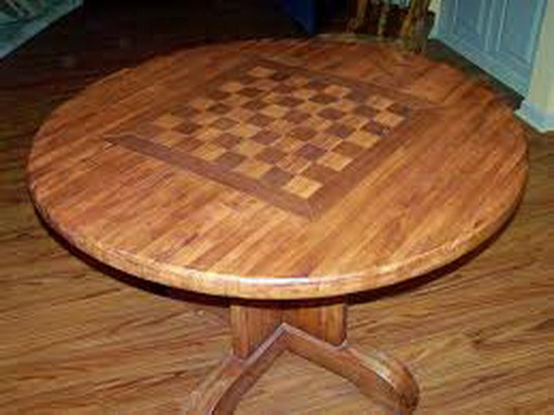 Picture of: Butcher Block Dining Table Diy