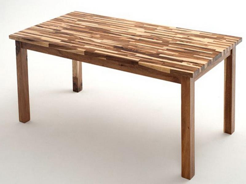 Butcher Block Kitchen Table Zeru