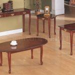 Cherry Wood End Tables And Coffee Tables