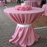Cute Cocktail Table Linens