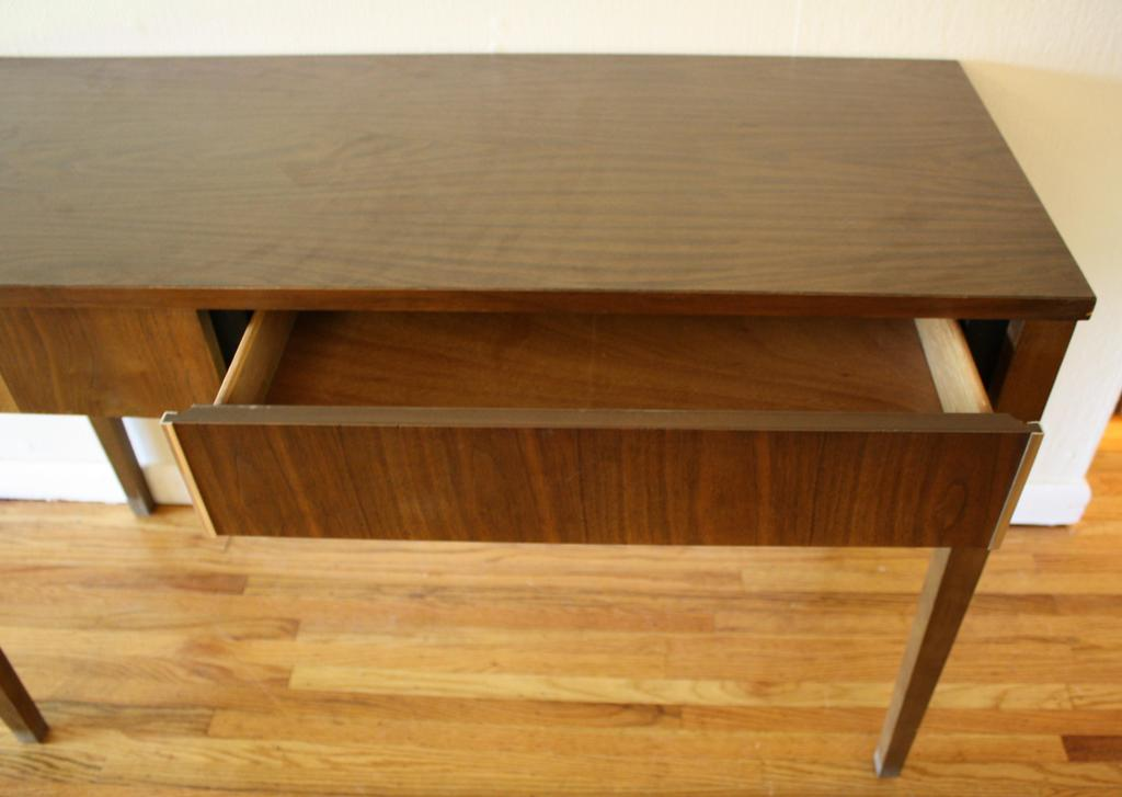 Picture of: Diy Mid Century Modern Console Table