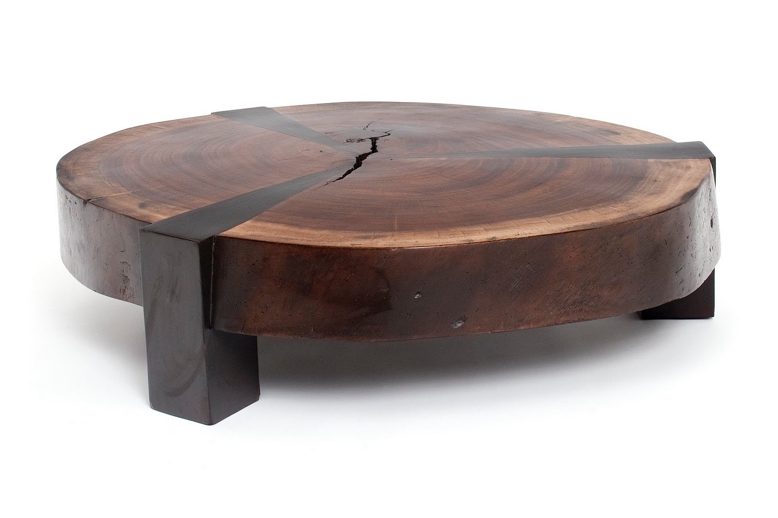 Image of: Eco Friendly Exotic Wood Tables