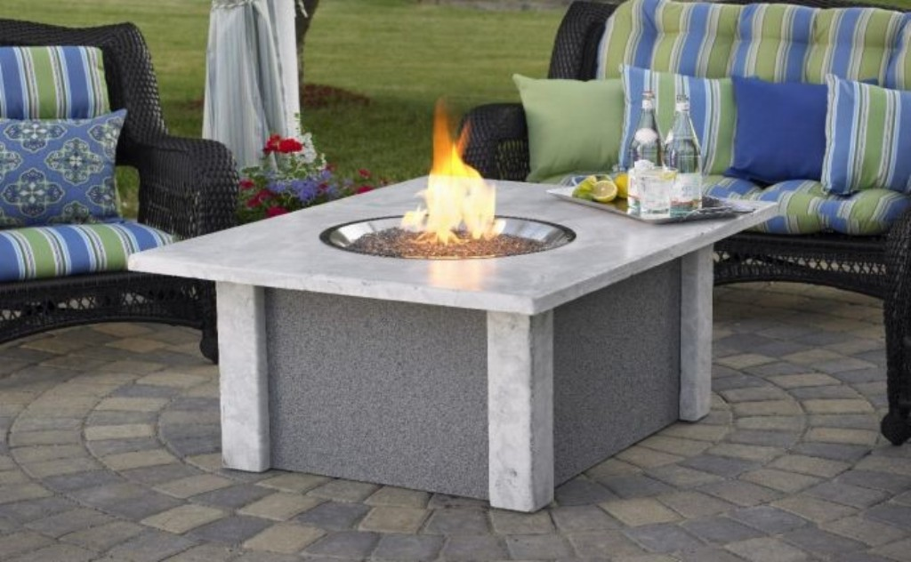 Image of: Fire Pit Coffee Table