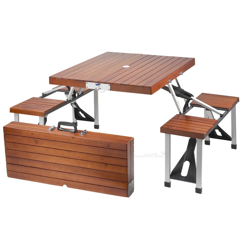 Picture of: Folding Picnic Table Ideas