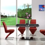 Glass Extendable Dining Table Design