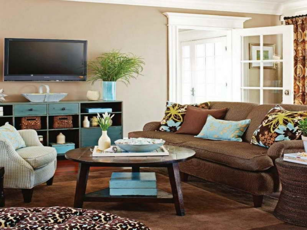 Image of: how to decorate a coffee table ideas