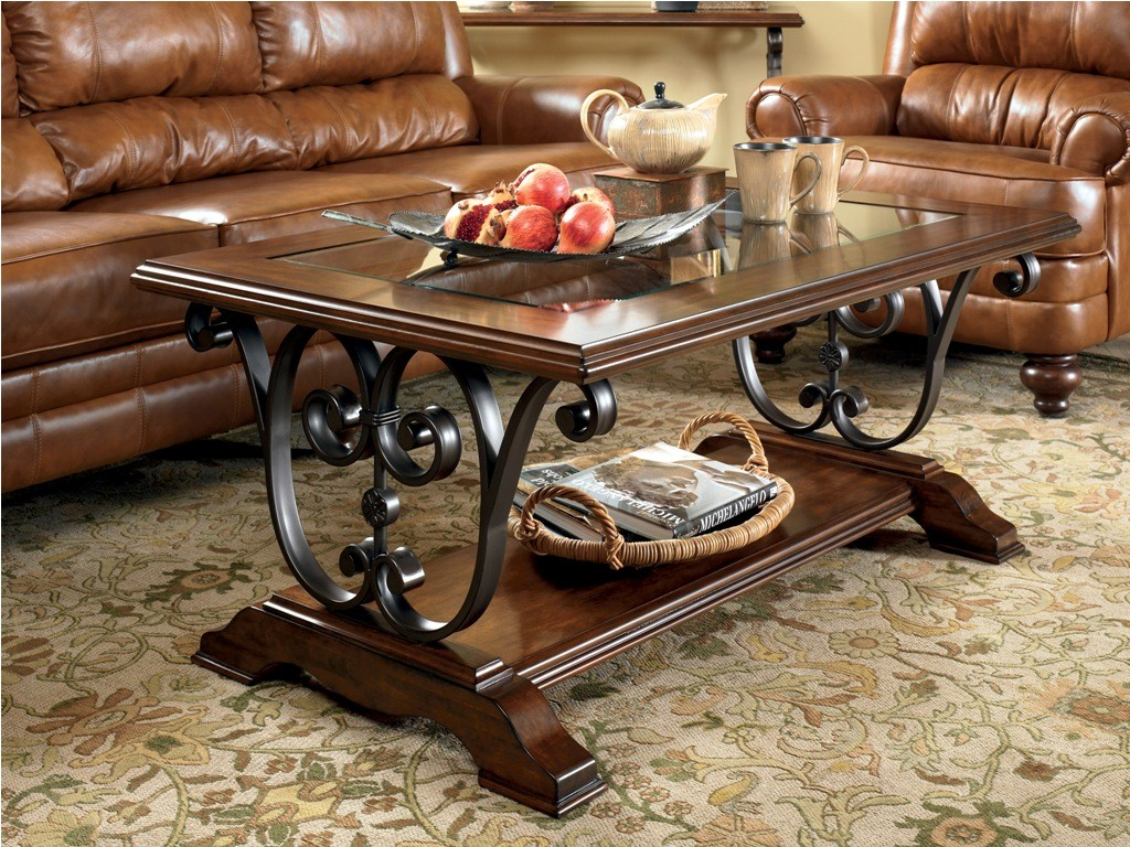 Image of: how to decorate a coffee table tray