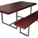 Industrial Butcher Block Dining Room Table