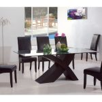 Inexpensive Dark Wood Dining Table