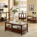 Large Cherry Wood End Tables