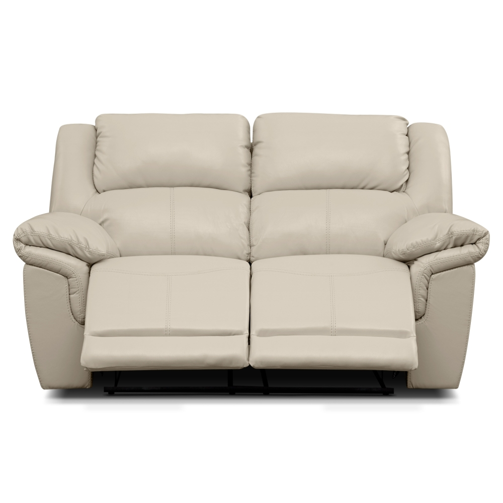 Picture of: Leather Reclining Loveseat Design