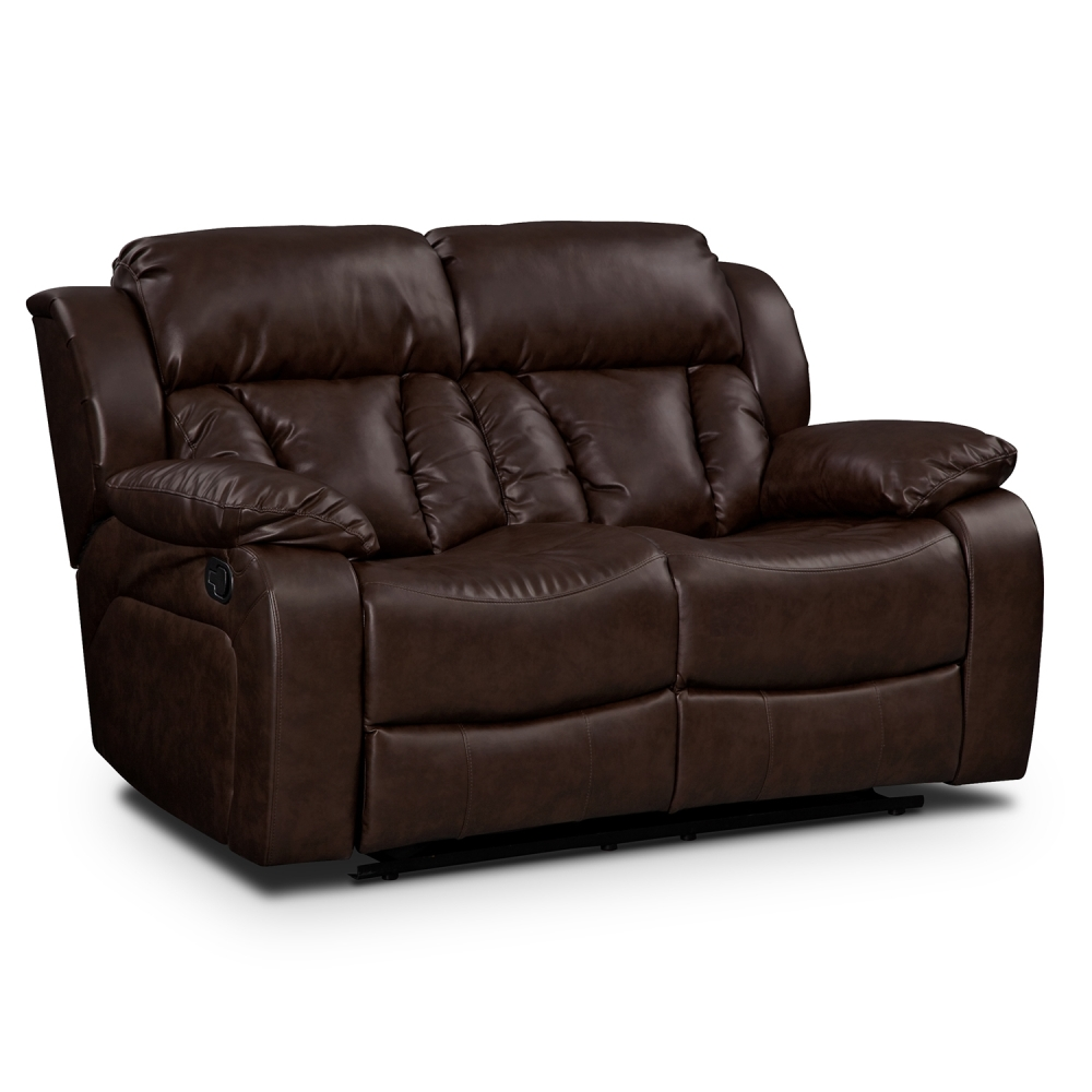 Picture of: Leather Reclining Loveseat Ideas
