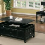 Lift Top Cocktail Table Black