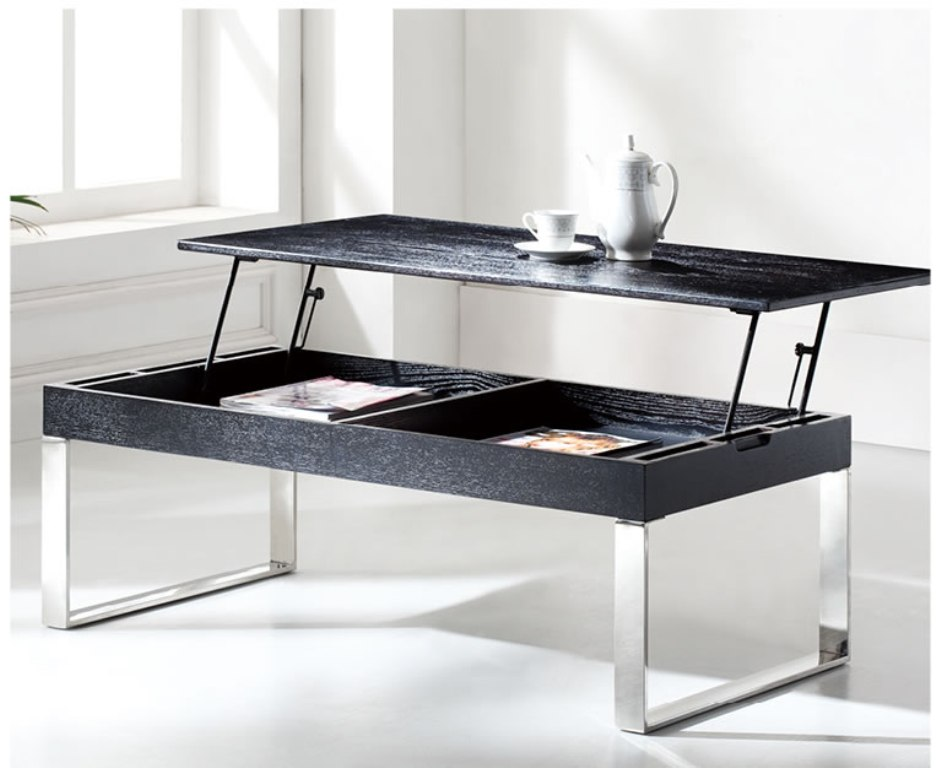 Picture of: Lift Top Cocktail Table Espresso