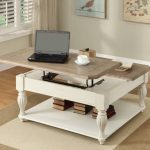Lift Top Cocktail Table White