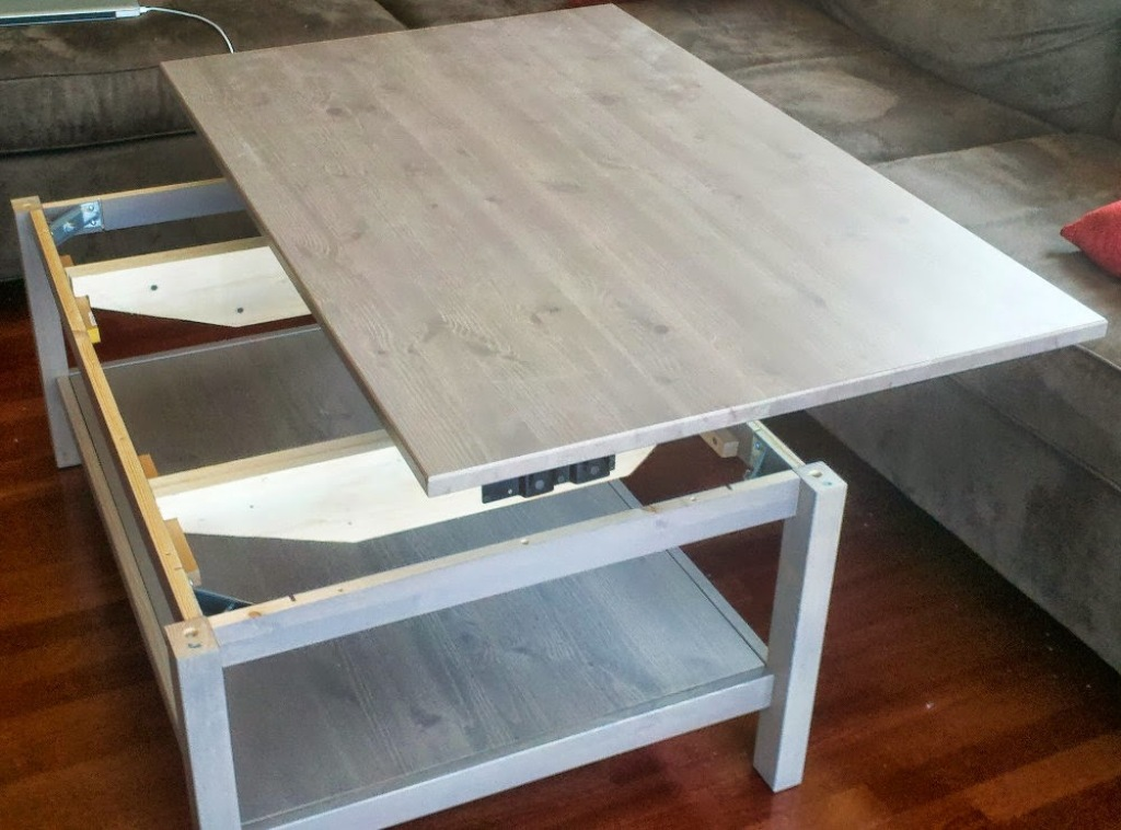 Picture of: Lift Top Coffee Table Ikea