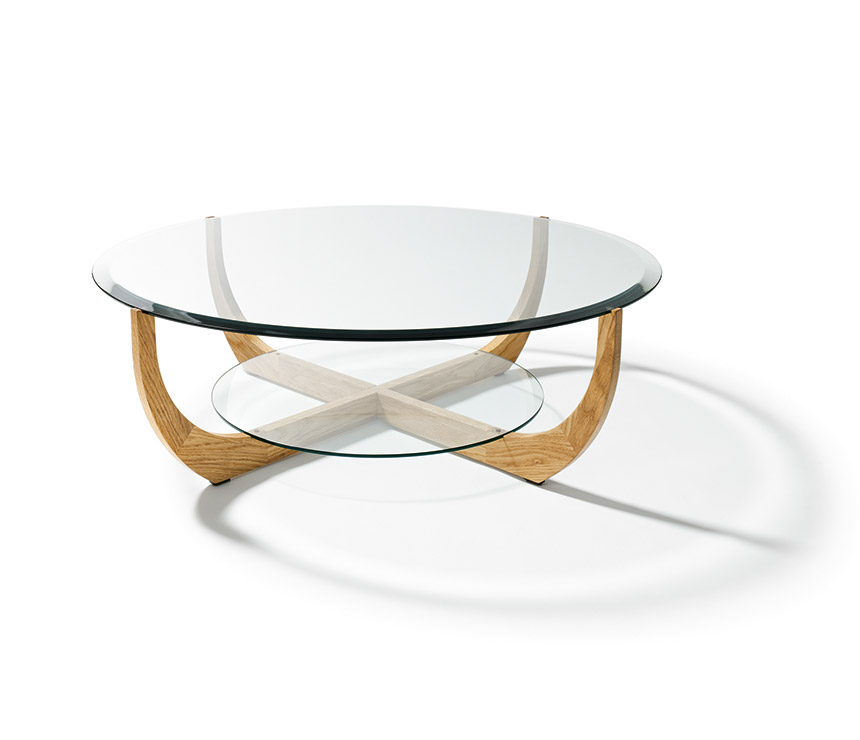 Picture of: Luxury Round Glass Coffee Tables