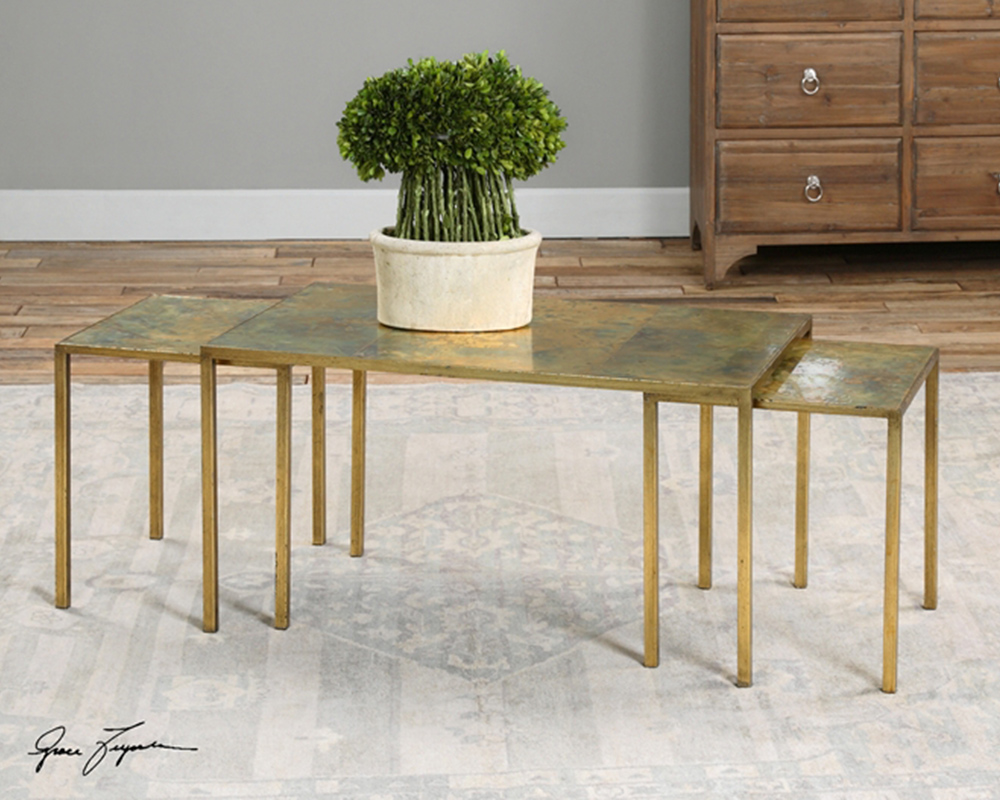 Image of: luxury nesting coffee tables